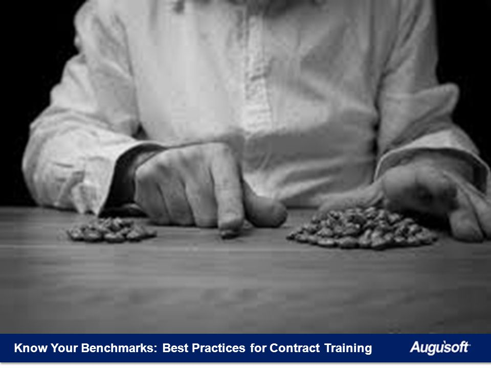 Know Your Benchmarks: Best Practices for Contract Training