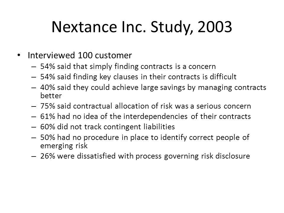 Nextance Inc.