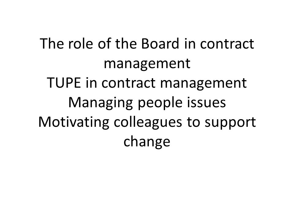 Approach Four separate issues Mix of strategic and operational Link (where possible) to grounds maintenance Role of seniors Role of the Board