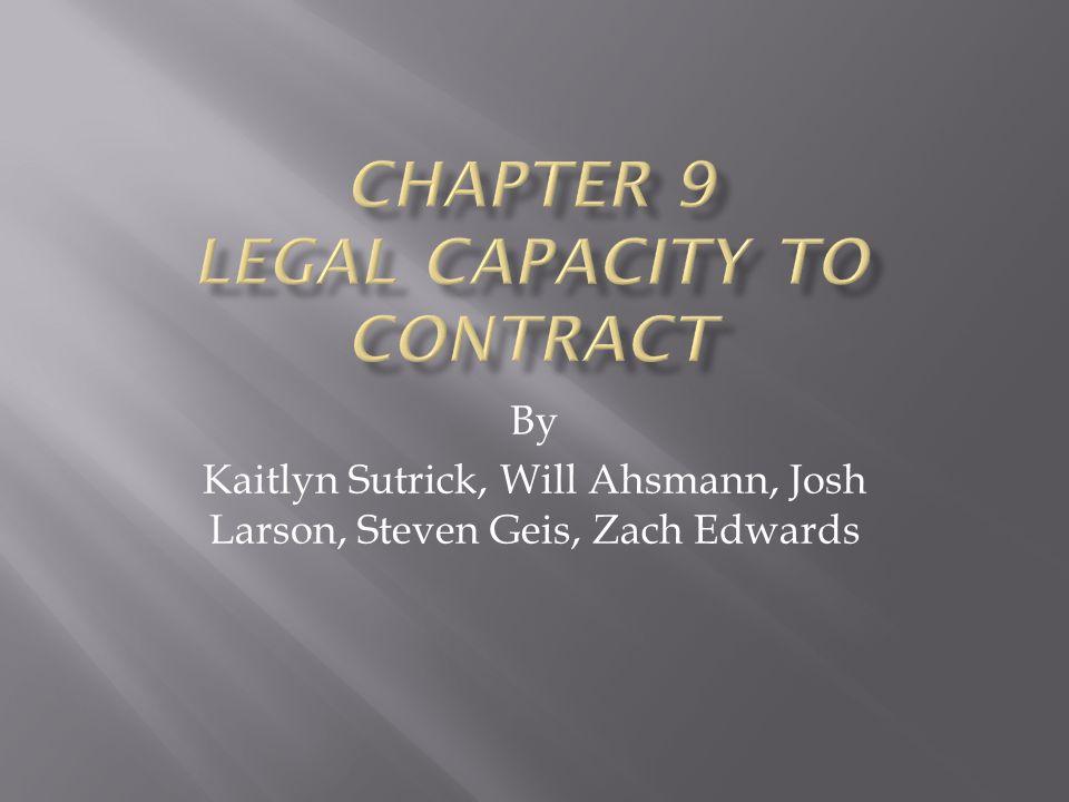 By Kaitlyn Sutrick, Will Ahsmann, Josh Larson, Steven Geis, Zach Edwards