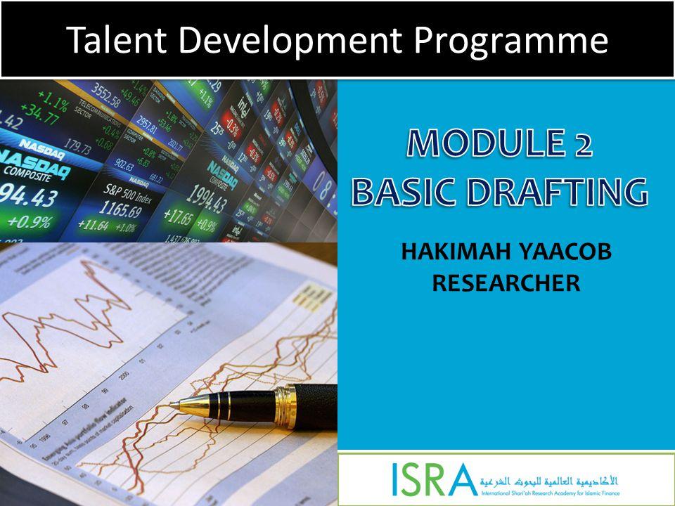 HAKIMAH YAACOB RESEARCHER Talent Development Programme