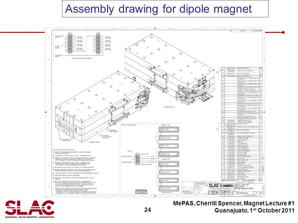 24 MePAS, Cherrill Spencer, Magnet Lecture #1 Guanajuato.