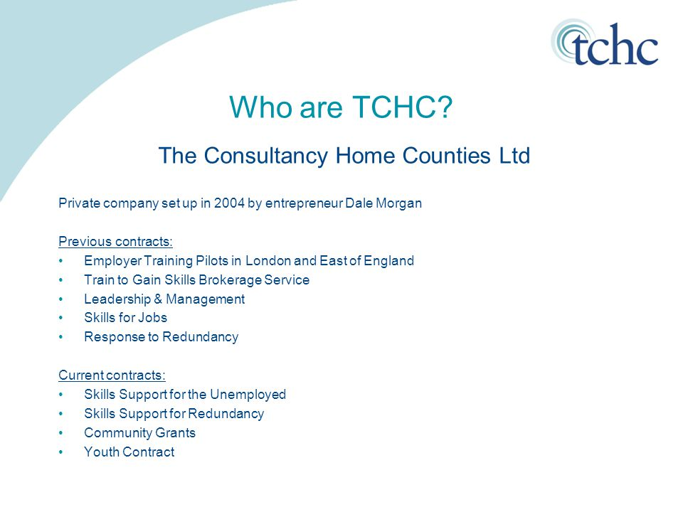 Who are TCHC.