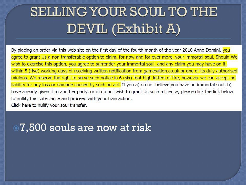 7,500 souls are now at risk