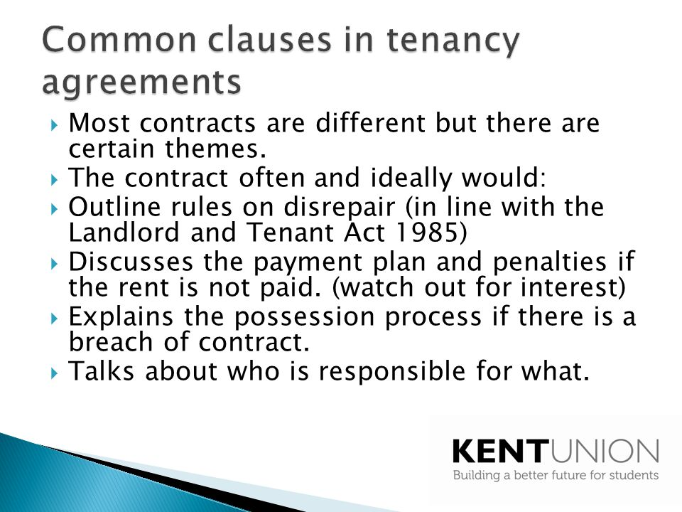 Some contract clauses are unenforceable.Statute overrides contract.