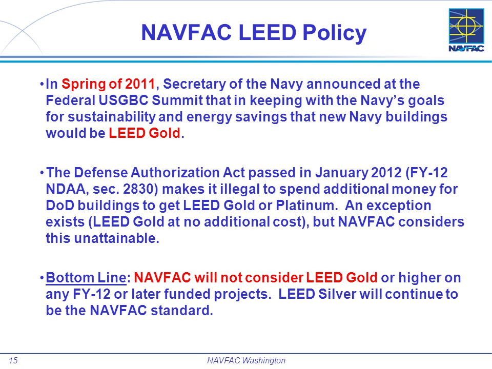 16NAVFAC Washington NAVFAC Washington Contact Information CI Chief Engineer/BLC – Thomas H.