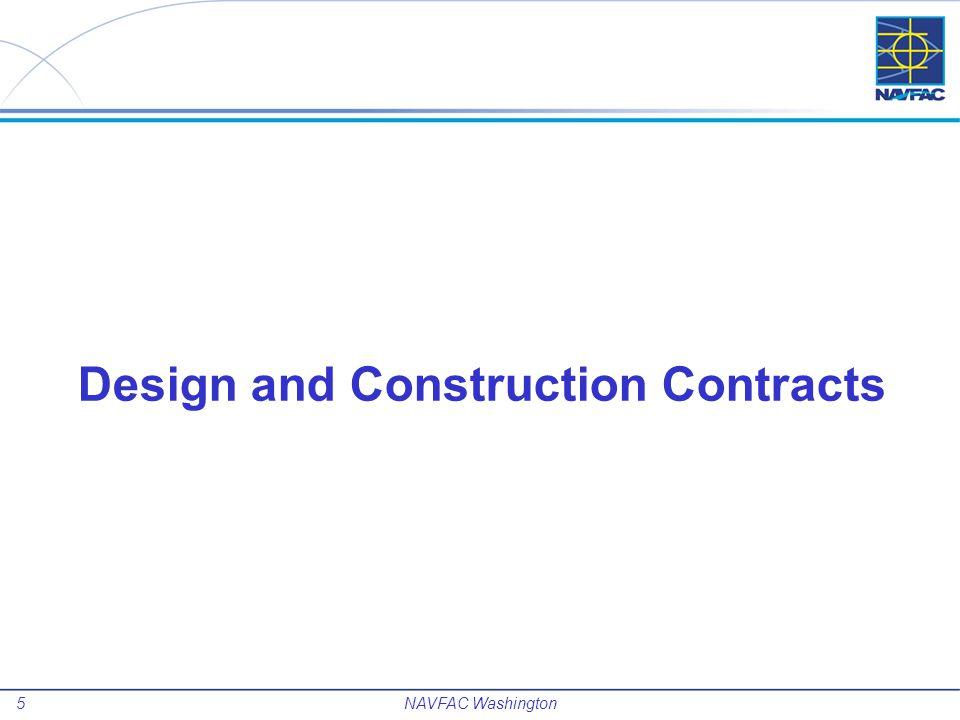 6 NAVFAC Washington Design Contracts IPT Blue Mech/Elec/Plumbing (SB): 5-yr, $7.5M; Expires JAN 2014 Consolidated MEP IDIQ: 5-yr, $30M; Scheduled for award FEB 2014 IPT Blue Arch Design (8a): 5-yr, $7.5M; Expires SEP 2014 IPT Blue Arch/Eng - MILCON (LB): 5-yr, $7.5M; Expires JAN 2014 Arch/Eng – Explosives(LB): 5-yr, $8M; Expires SEP 2014 IPT Blue Civil/Struc (LB): 5-yr, $7.5M; Expires MAY 2016 Gen/Admin Facs (LB): 5-yr, $30M; Expires JUL 2015 Synopsis for new 5-yr, $75M contract scheduled for Q3, 2013 release Industrial Facs (LB): 5-yr, $30M; Expires NOV 2015 NAVFAC Washington