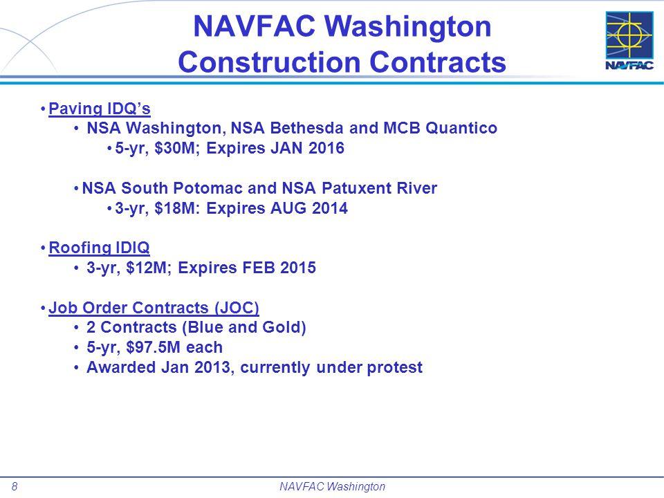 9 Future Projects NAVFAC Washington