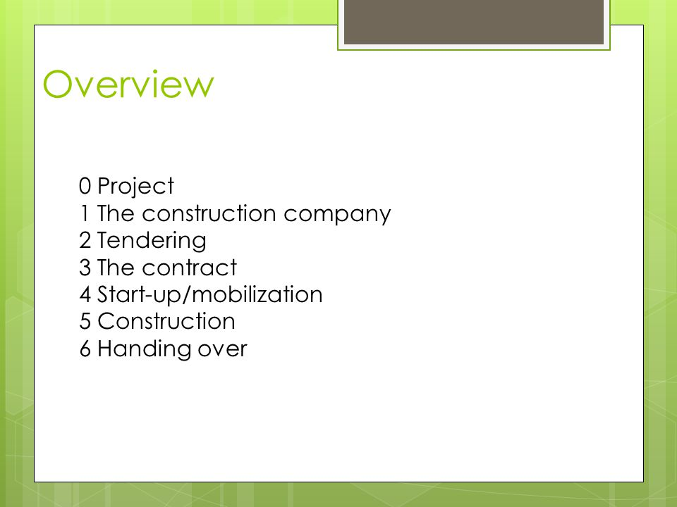 Construction of an office building with 2 storeys and establishment of roads, paths and parking areas.