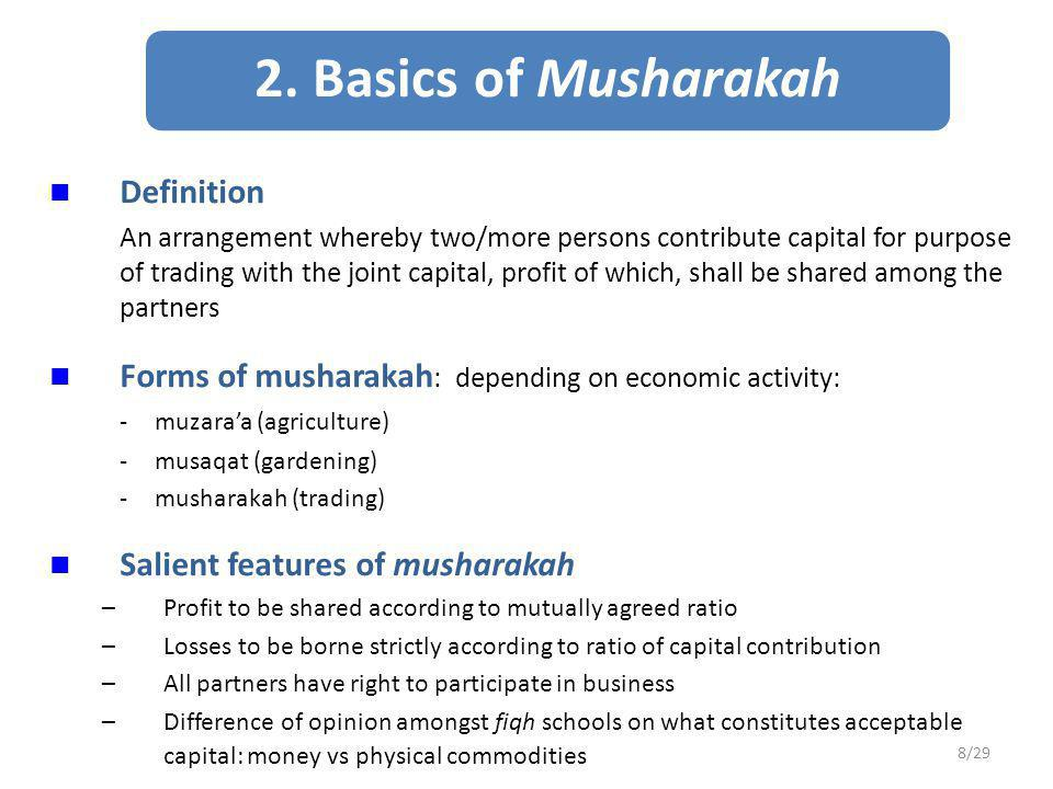Terms and Conditions 1.Period of ijarah arrangement must be clearly specified 2.