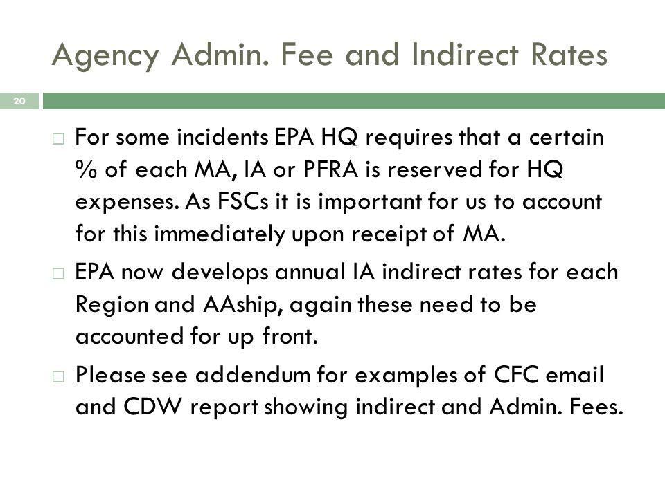 Agency Admin.