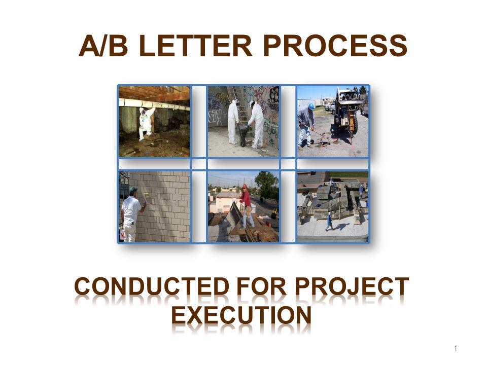 A/B LETTER PROCESS 1