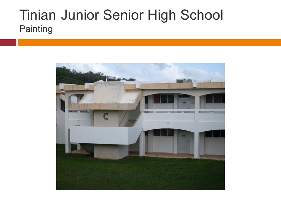 Tinian Junior Senior High School Painting