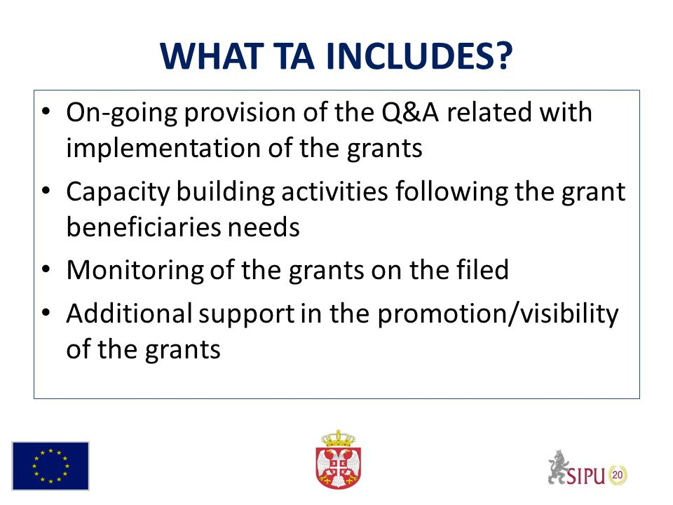 GRANT AGREEMENT Grant Contract/Special Conditions – Article 1 – Purpose – Article 2 - Implementation period of the Action – Article 3 - Financing the Action – Article 4 - Narrative and financial reporting and payment arrangements – Article 5 - Contact addresses – Article 6 - Annexes