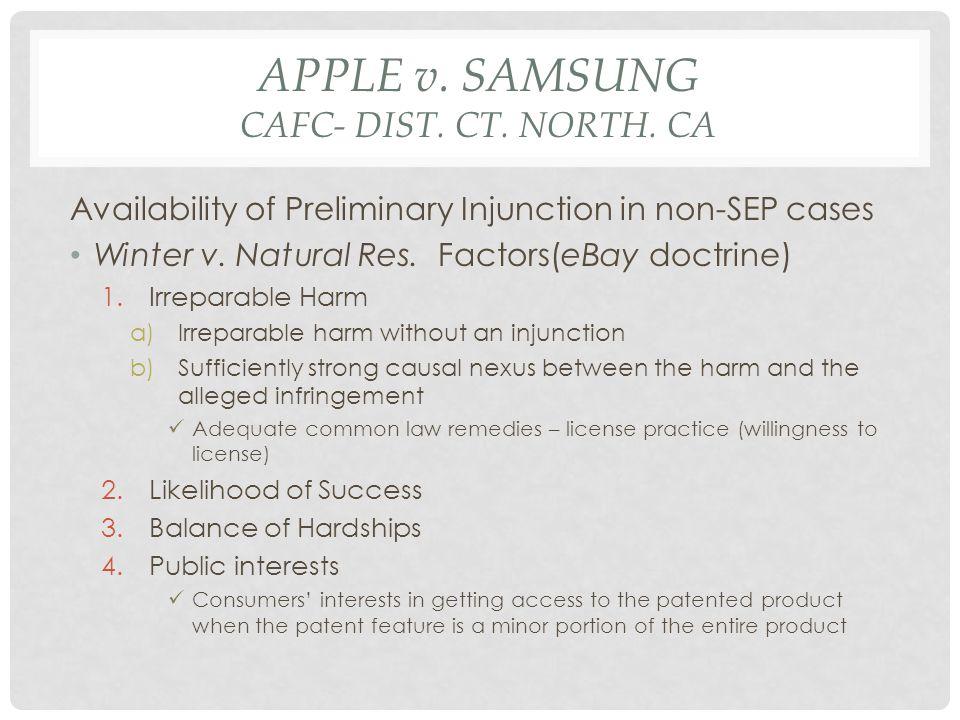 APPLE v.SAMSUNG CAFC- DIST. CT. NORTH.