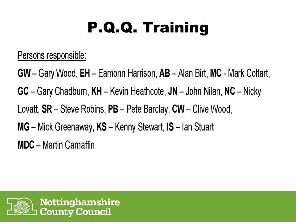 P.Q.Q. Training
