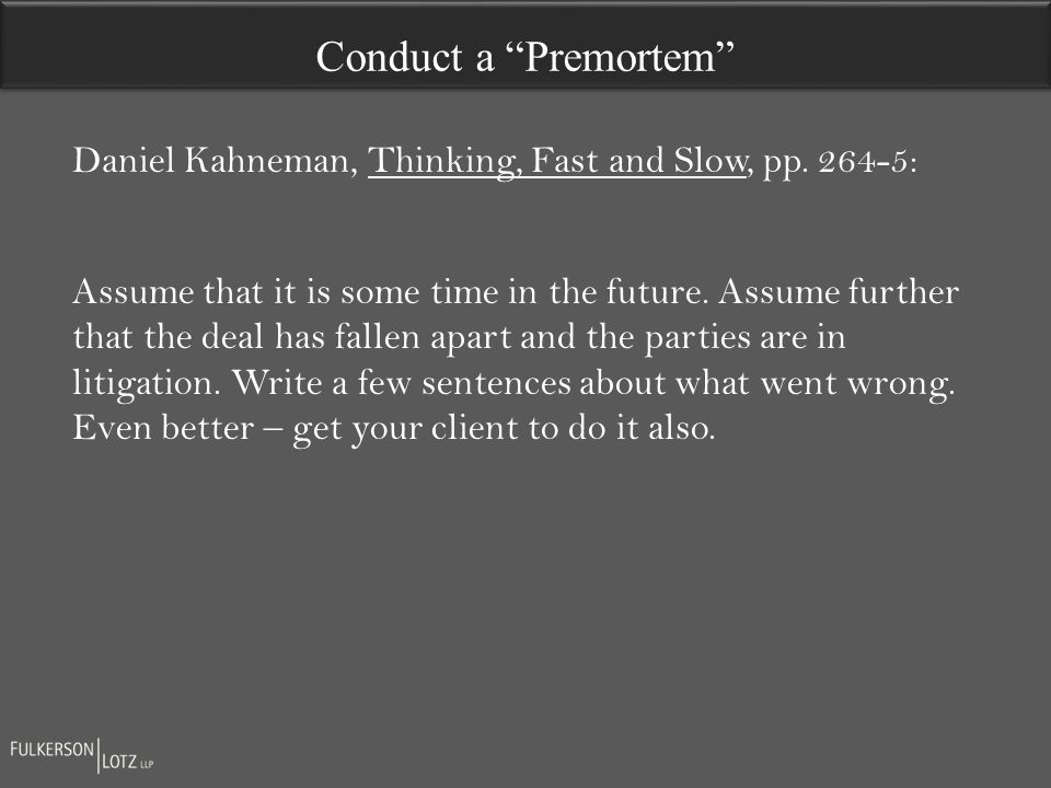 Daniel Kahneman, Thinking, Fast and Slow, pp.