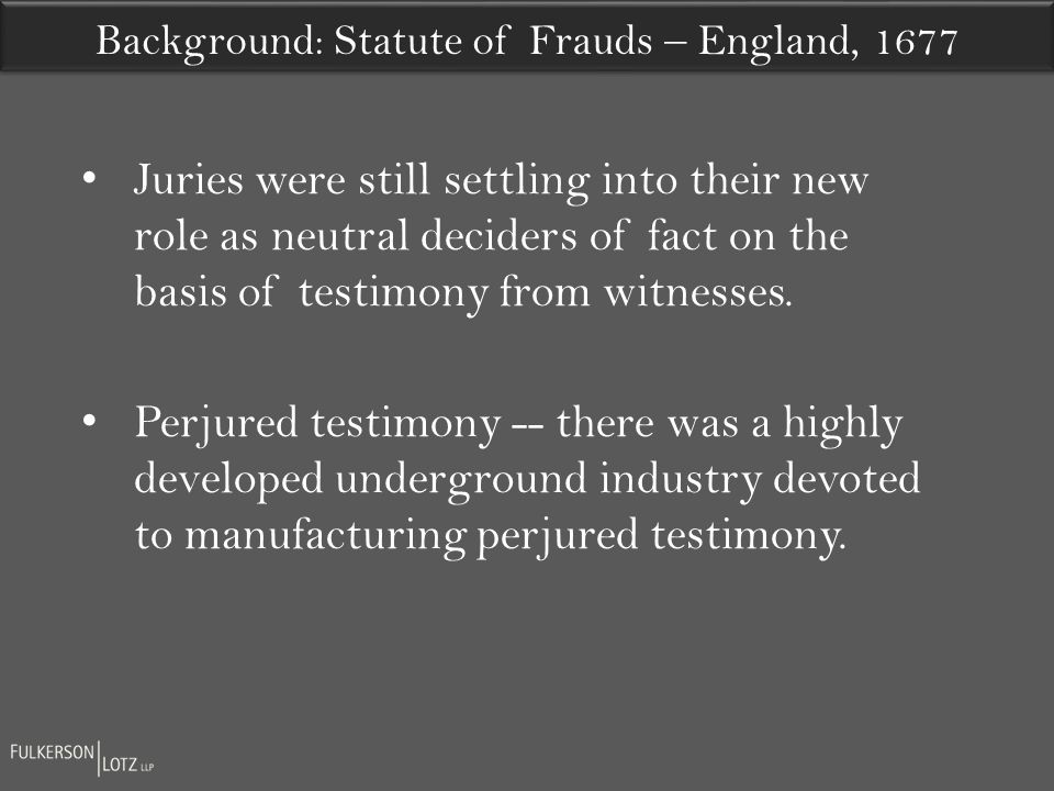Juries were still settling into their new role as neutral deciders of fact on the basis of testimony from witnesses.