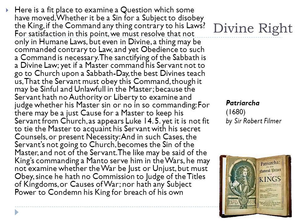 Bishop Jacques-Benigne Bossuet IT IS GOD who establishes kings.