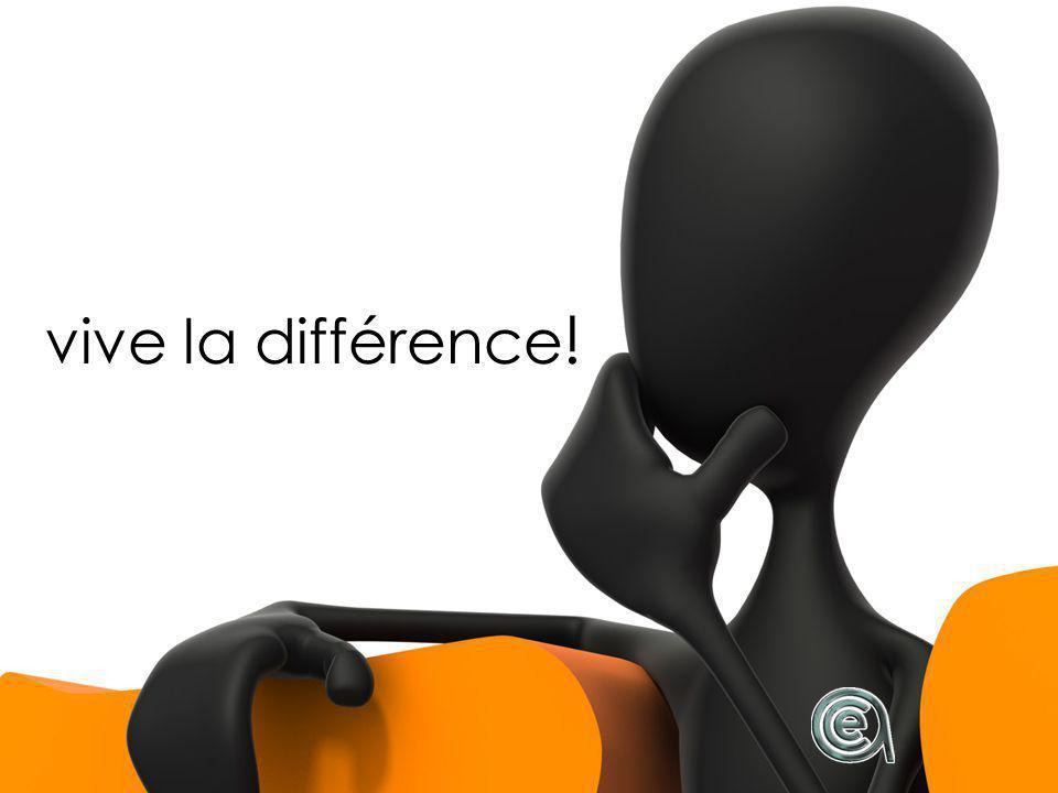 vive la différence !