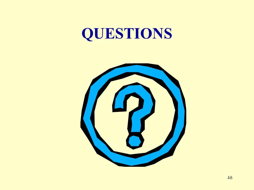 46 QUESTIONS