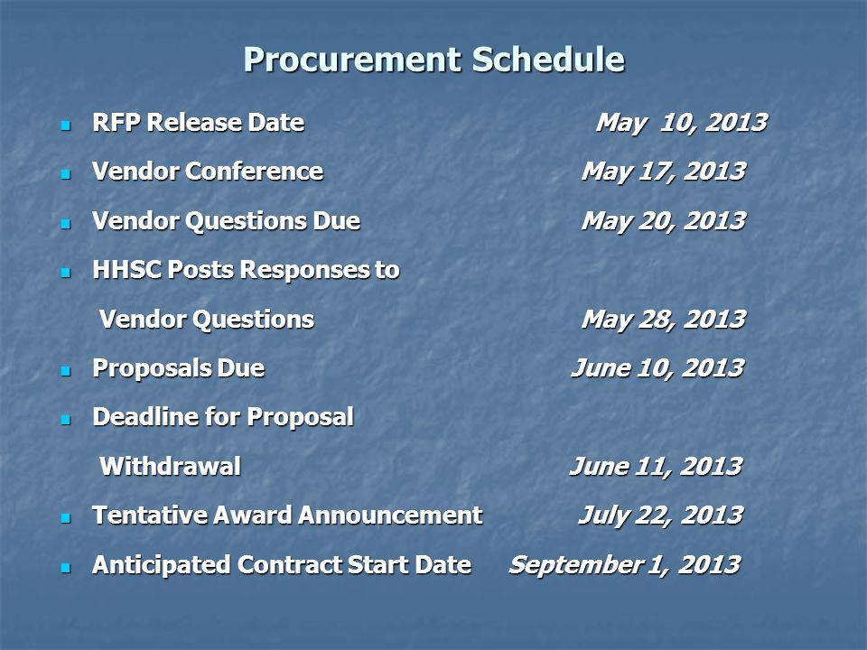 HSP GFE Method B (Attachment B) Written Notification To Trade Organizations