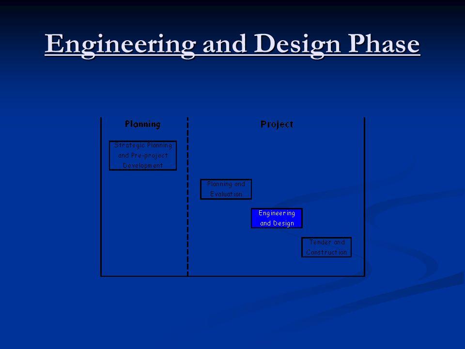Tender and Design Phase