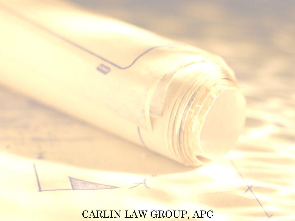 CARLIN LAW GROUP, APC