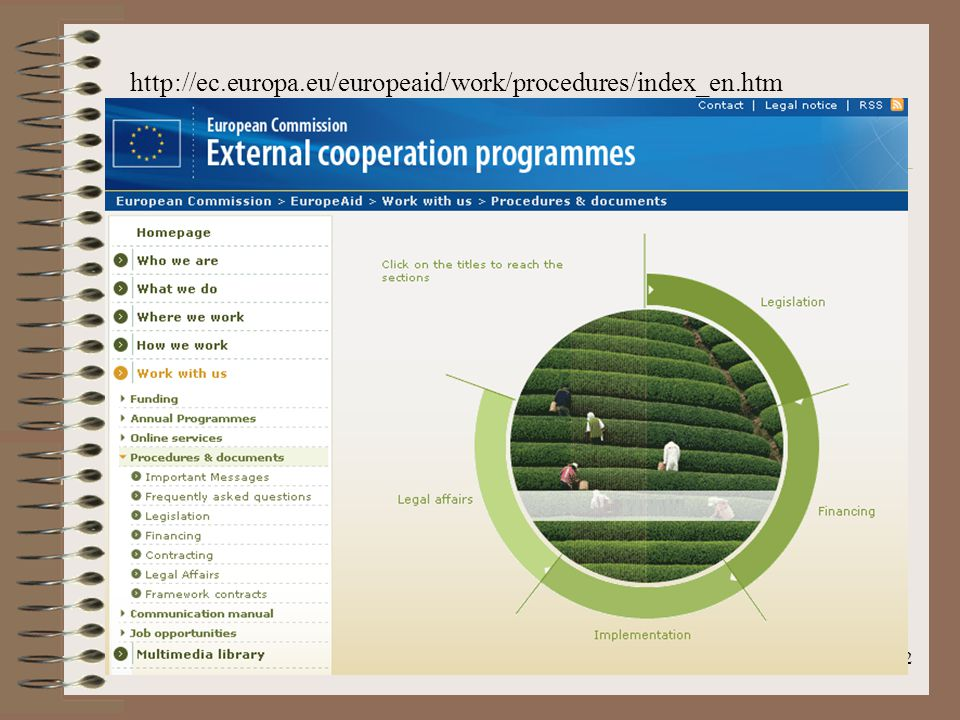 2 http://ec.europa.eu/europeaid/work/procedures/index_en.htm