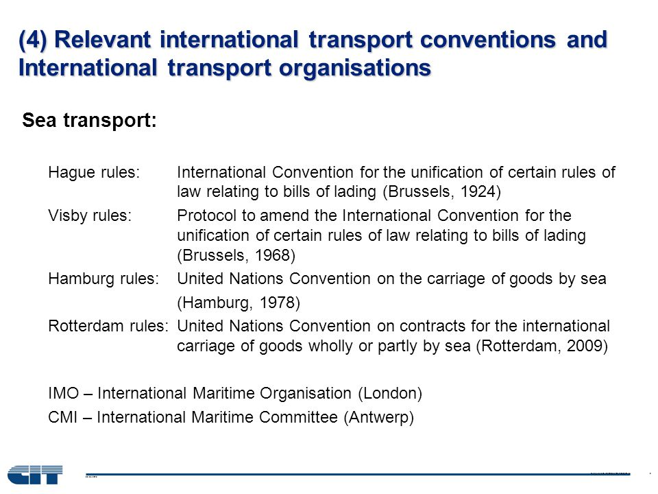 04.06.2014 9 CIT/OSJD Project: Legal Interoperability CIM/SMGS Phase 1: Common CIM/SMGS consignment note Phase 2: Standardised claims handling mechanism Phase 3: Single Eurasian Rail Transport Law