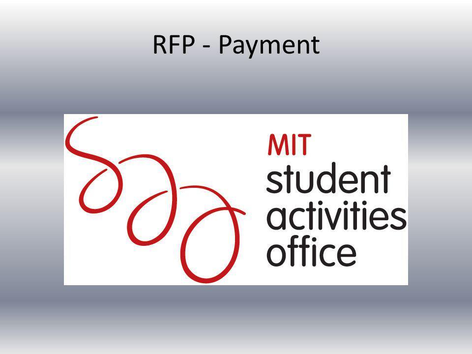 RFP - Payment