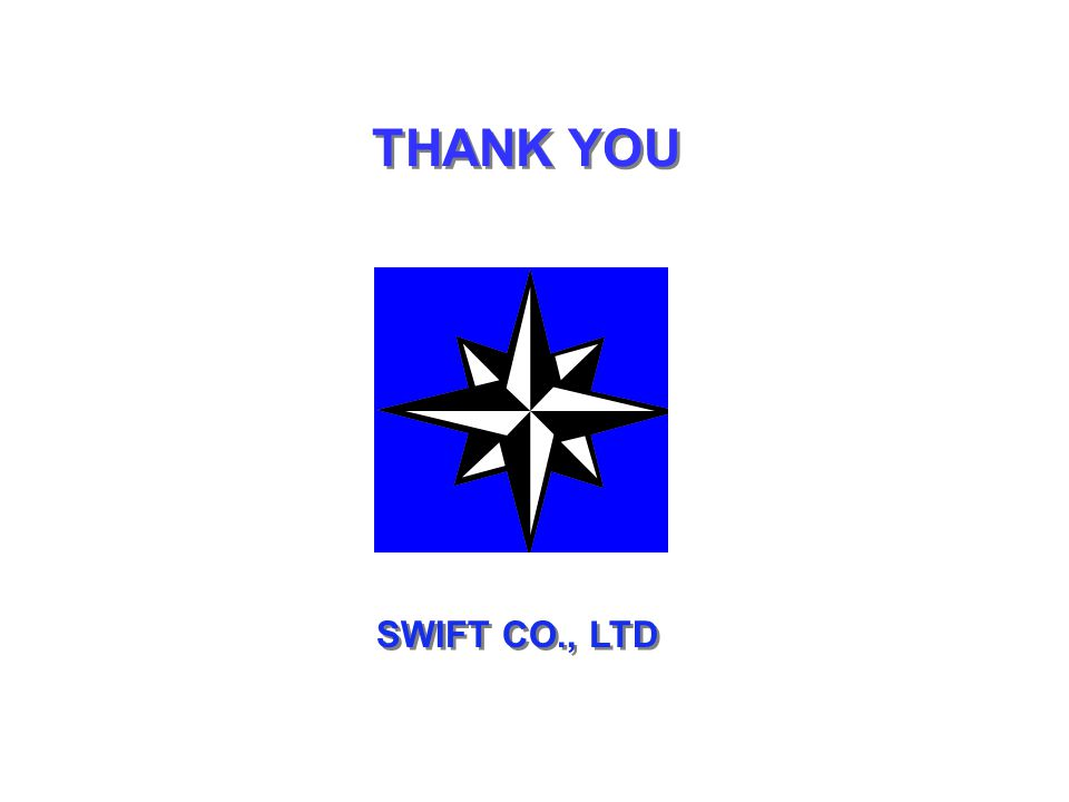 THANK YOU SWIFT CO., LTD