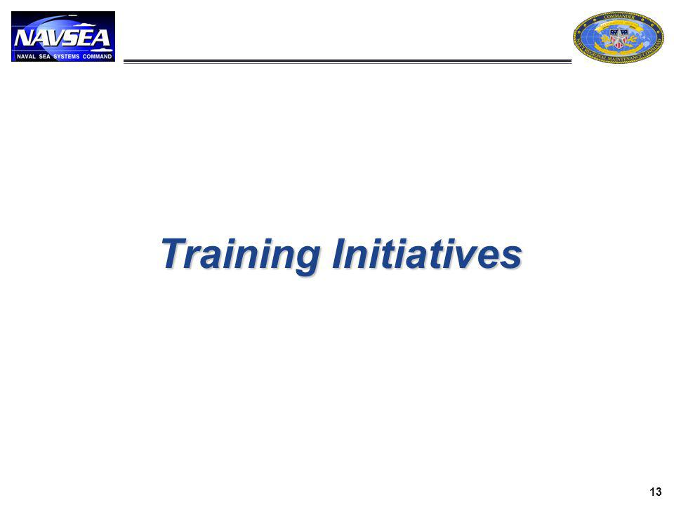 Training Initiatives 13