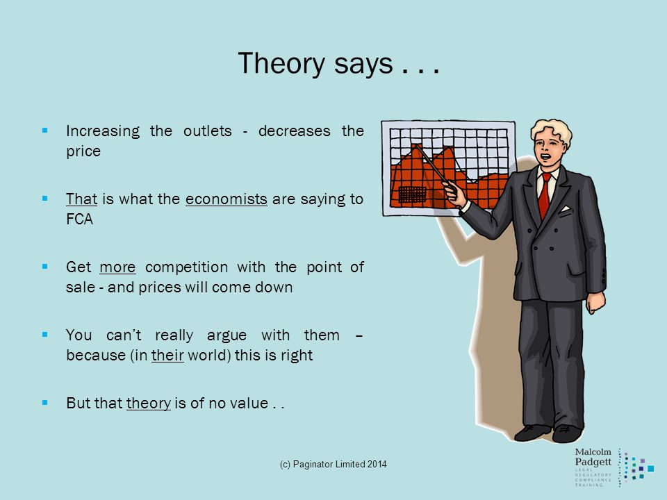 Theory says...