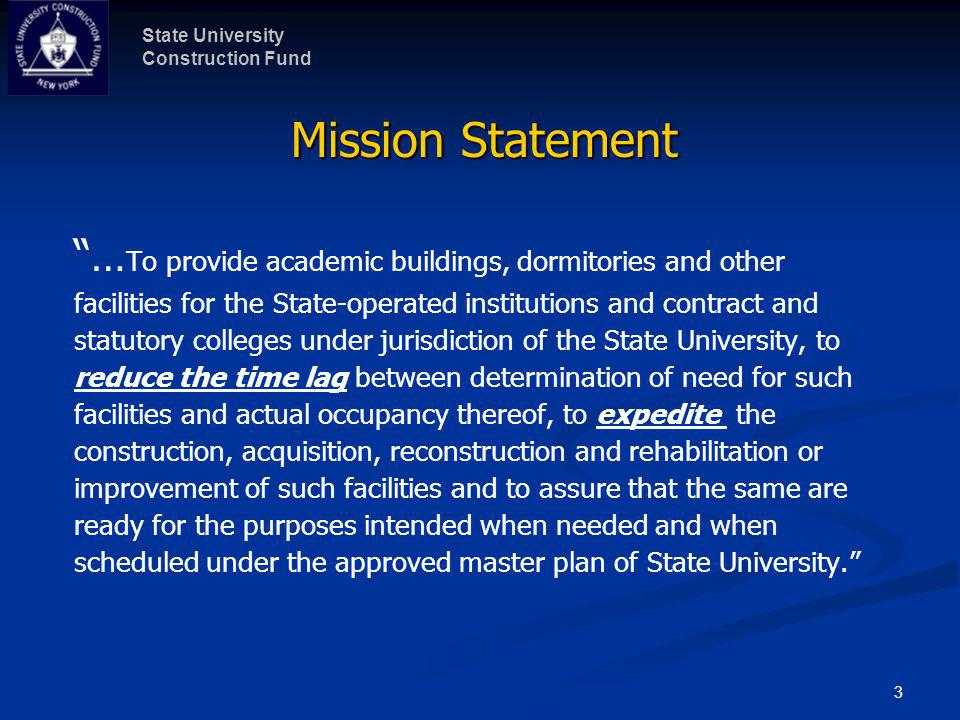 State University Construction Fund 4 SUNY Campuses