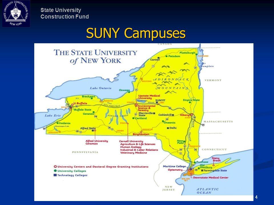 State University Construction Fund 5 SUNY Capital Program Summary # of BldgsSq.