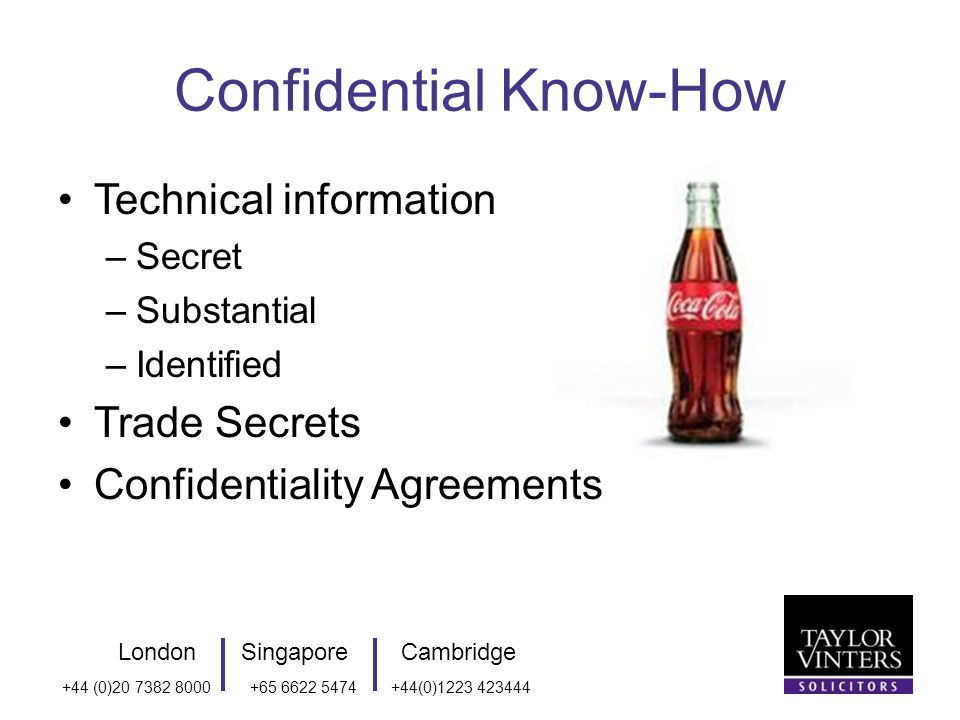 LondonSingaporeCambridge +44 (0)20 7382 8000+65 6622 5474+44(0)1223 423444 How to secure the right to use Agreements Terms on website May need negotiated agreements and licences where complex