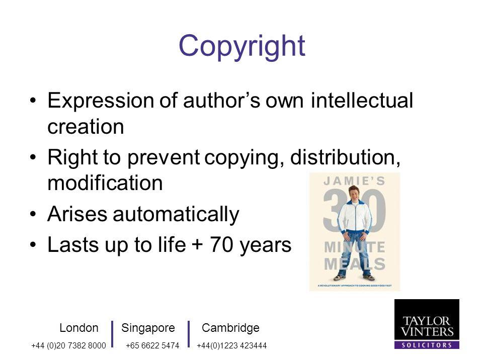 LondonSingaporeCambridge +44 (0)20 7382 8000+65 6622 5474+44(0)1223 423444 Who owns the resulting IP.