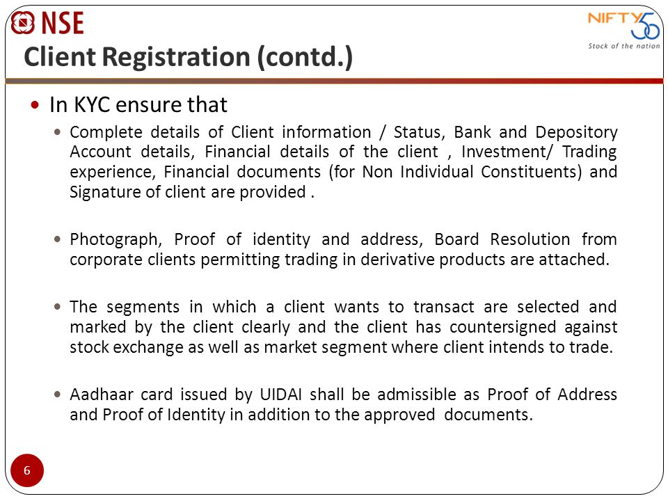 Electronic Contract note (ECN) ECNs can be issued only if specifically consented by client.