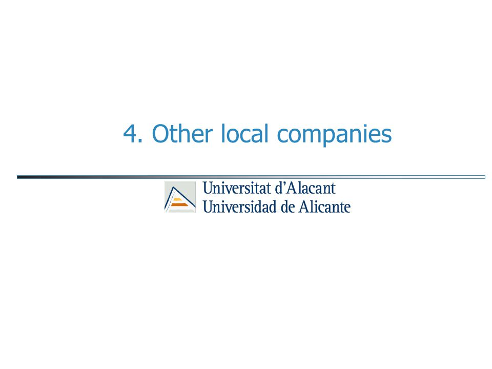 4. Other local companies