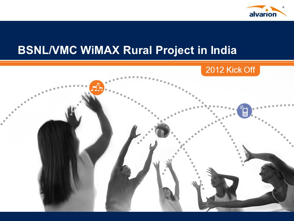 Proprietary Information. Alvarions WiMAX Solution for BSNL
