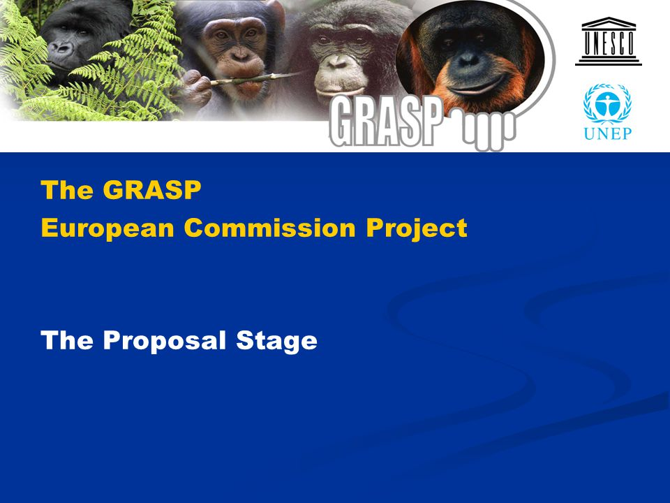 The GRASP European Commission Project The Proposal Stage
