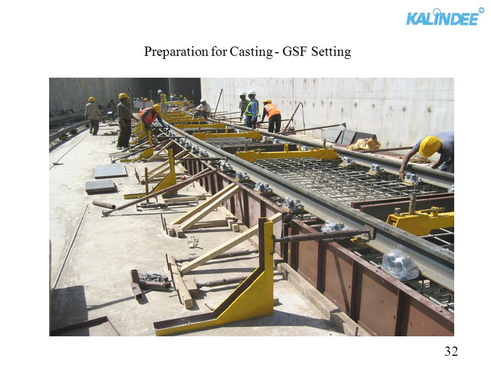 Preparation for Casting - GSF Setting 32