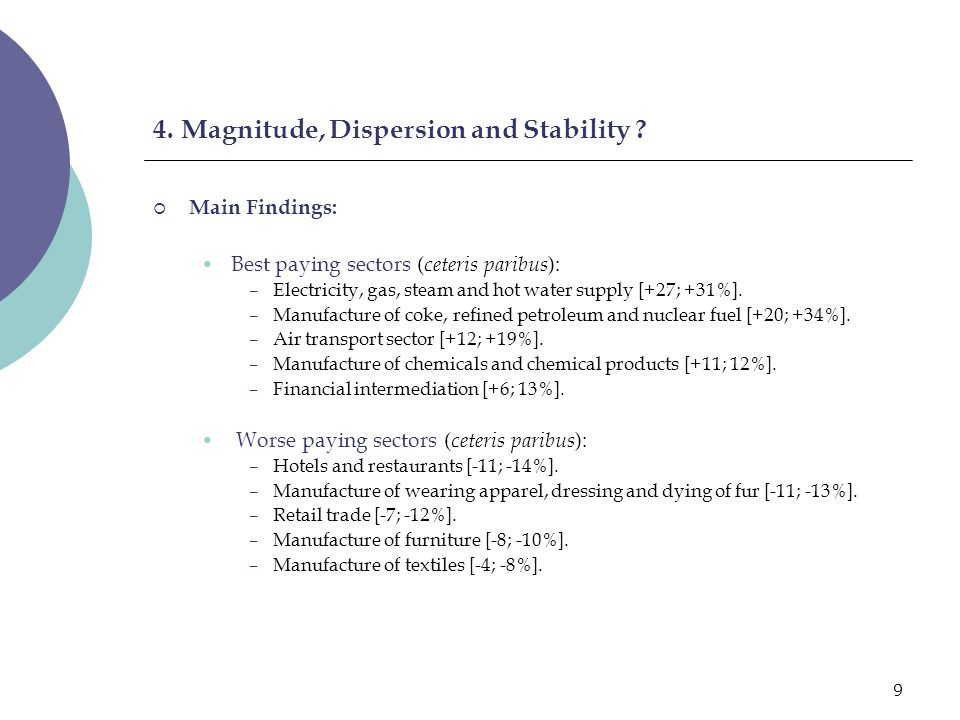 10 4.Magnitude, Dispersion and Stability .