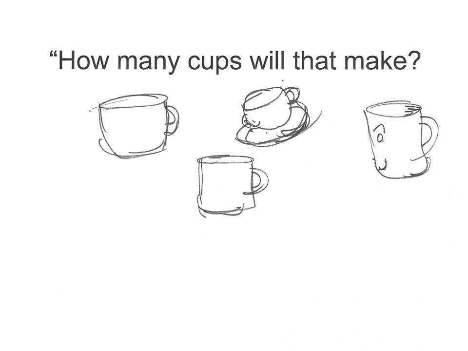 How many cups will that make picture of random cups