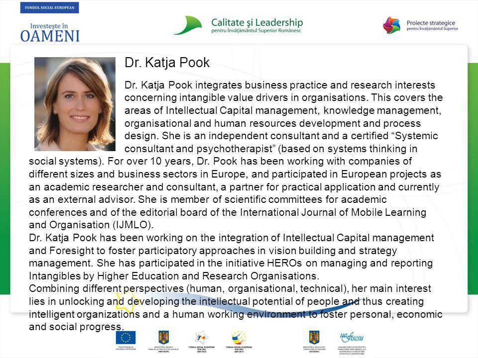 Dr. Katja Pook Dr.