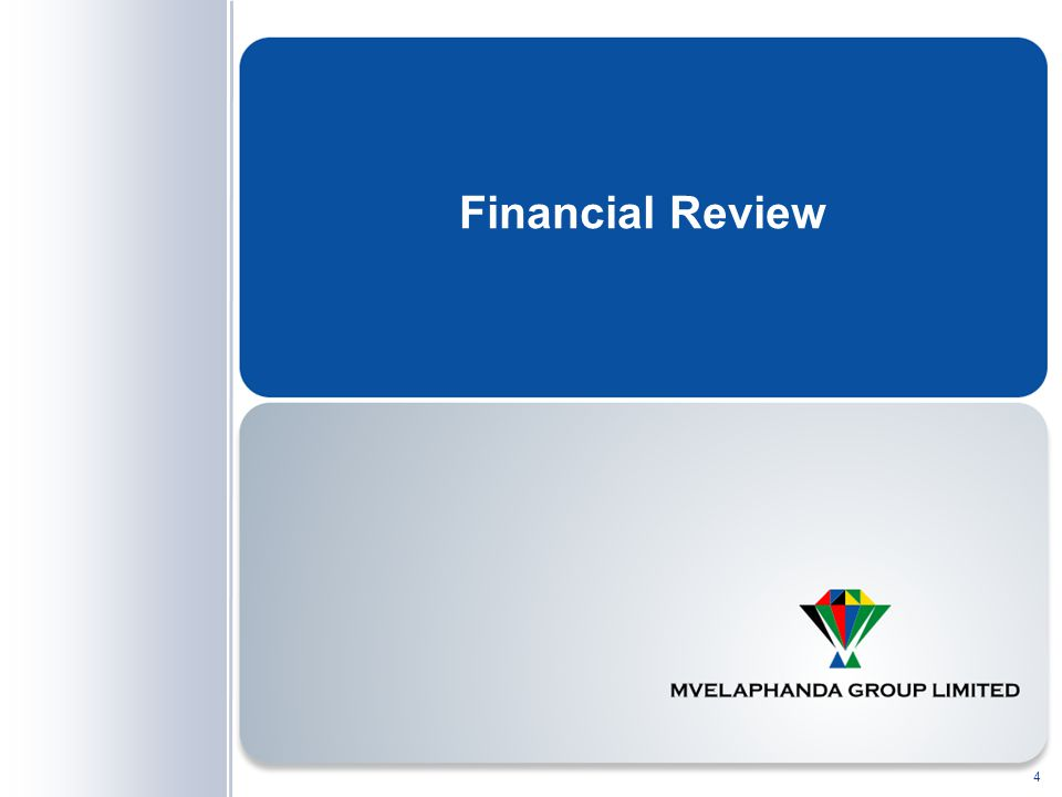 Financial Review 4