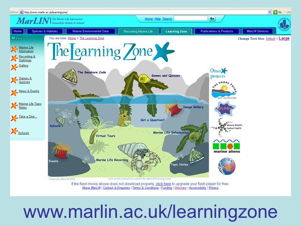 www.marlin.ac.uk/learningzone