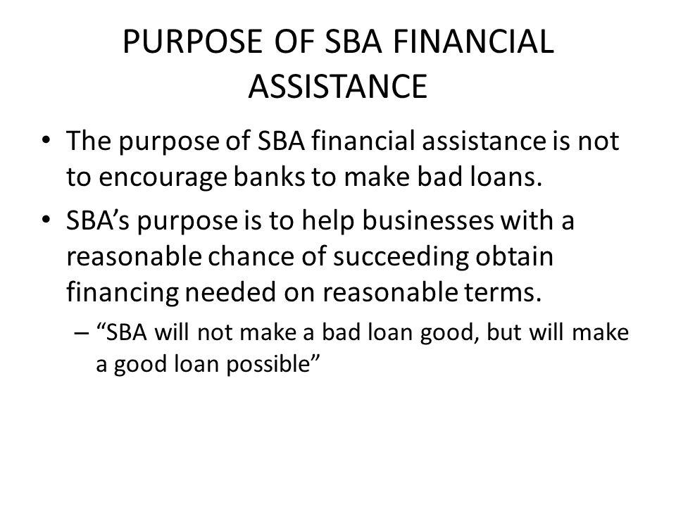 Who is SBA.