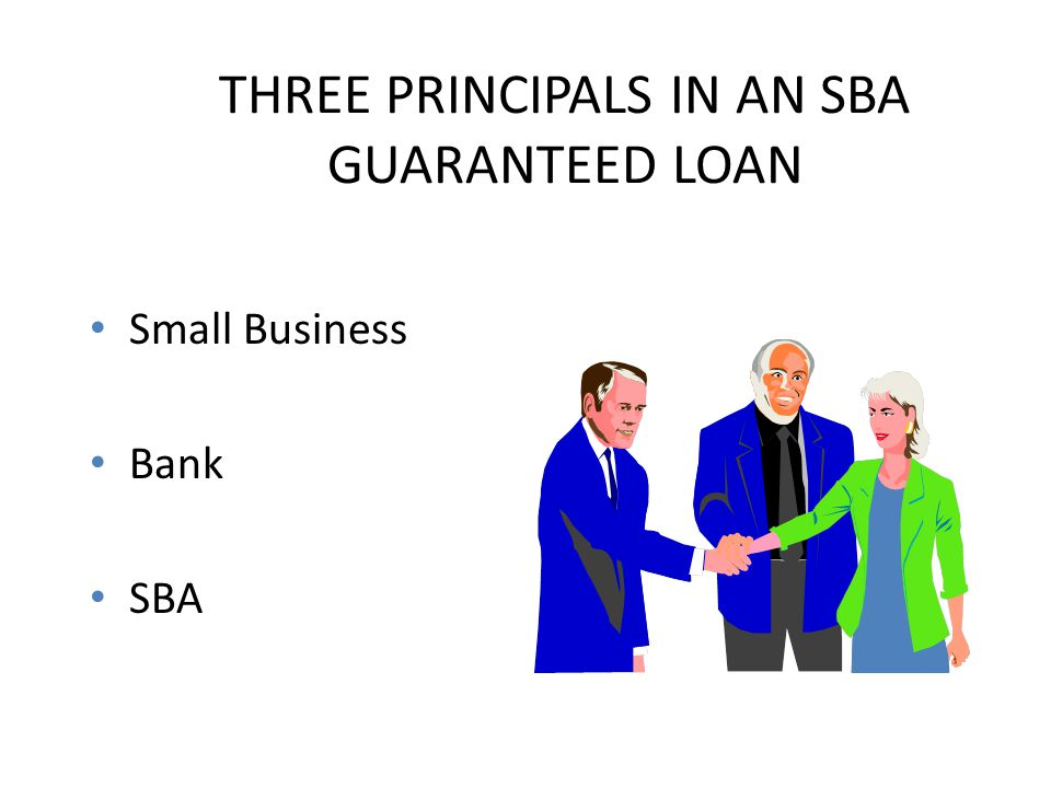 BENEFITS TO SMALL BUSINESS Gives small businesses a flexible financing alternative when funding is not otherwise available on reasonable terms.